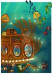 Archibald dreams of seas