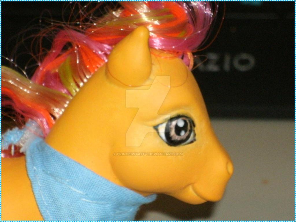 upclose protrait of Firefox by PrincessTaffy