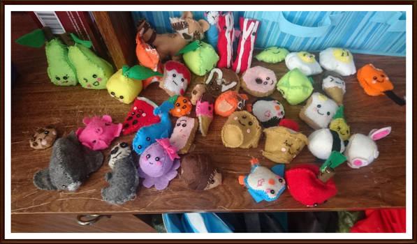 Craft kits animals and food