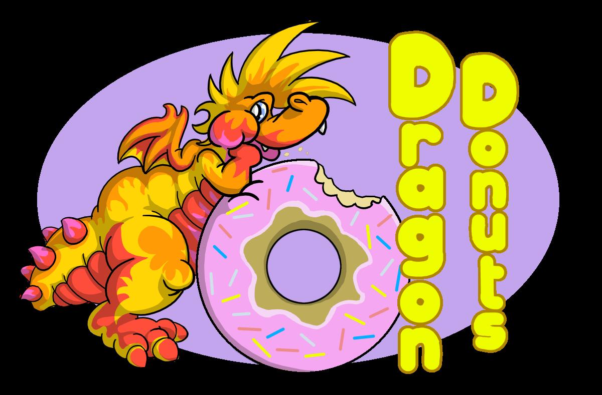 Dragon Donuts Logo by DragonKick
