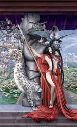 Huntress #2 by Corbistiger