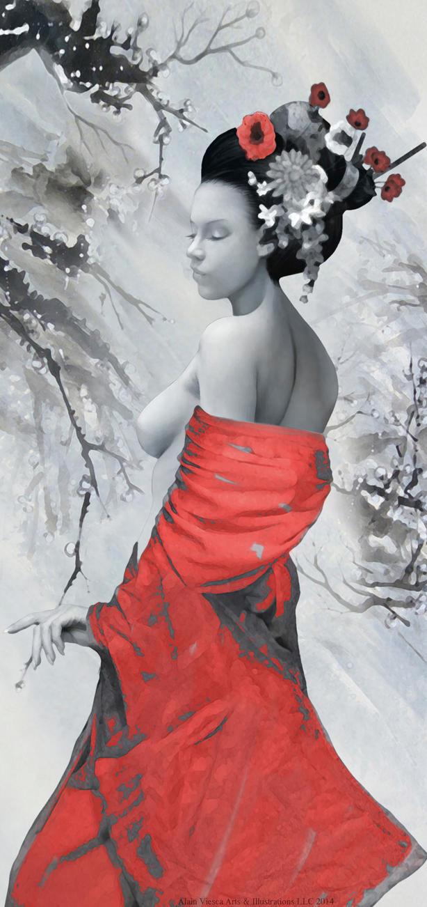 Winter Lady by Corbistiger