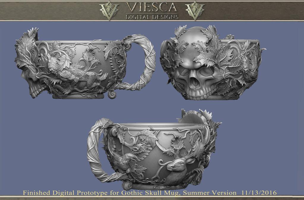 FIN-Mug sculpt01 by Corbistiger