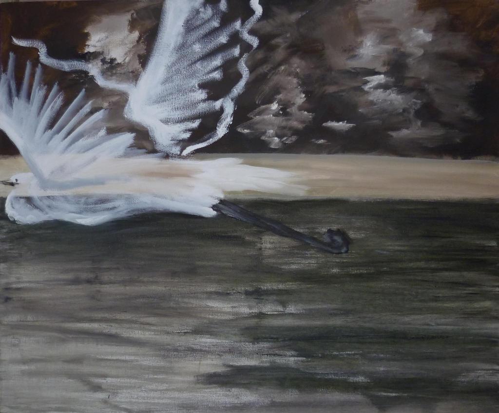 Crane II by Yamilisa