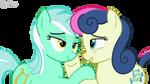 Lyra and Bon Bon Love (Vector)