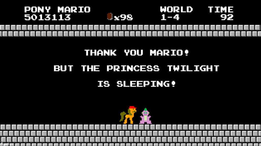 Mario Tries to Save the Princess Twilight!