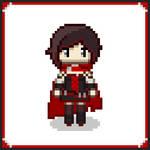 [RWBY] Ruby Pixel Art