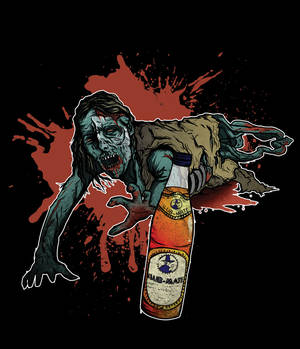 Zombie and Club Mate