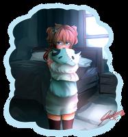 Shy lil' fellow~ [RQ] by Bjatterflai