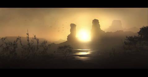 sunrise by regnar3712