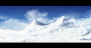 mountain speedpainting