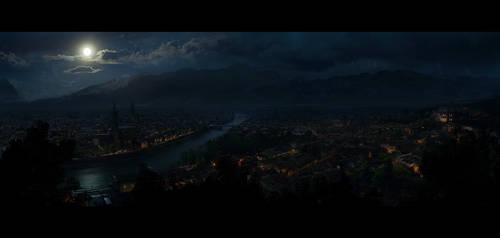 Verona night by regnar3712