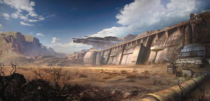 Concept Base Wall 001b