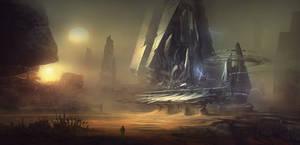 Alien Ruins 01 by regnar3712