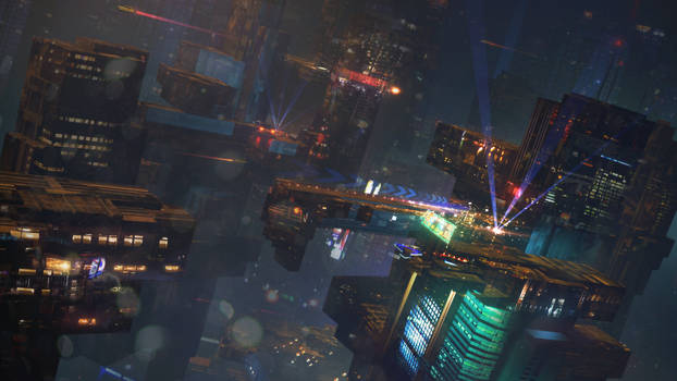 S-F Night City