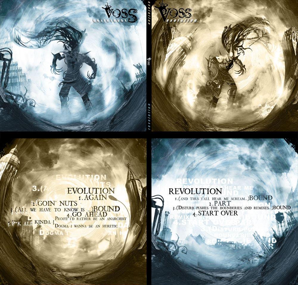Vos - CD artworks by sigu