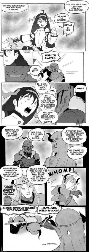 Goblin Slayer turns Evil
