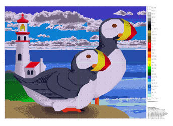 Puffin Pattern Finished - periodic updates by TNHawke