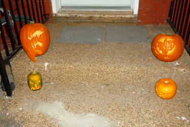 Jack-o-lanterns 2011 by TNHawke