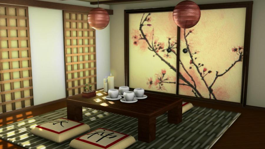 Anese Tea Room By Tjlogan