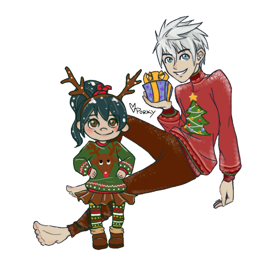 A Jack and Vanellope Christmas (Animation) by DreamCaptive