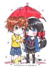 Love Rain by CHESS-Studio
