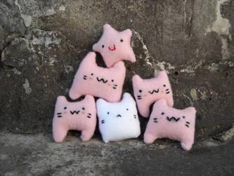 BubbleGum Cats by LaGataLola