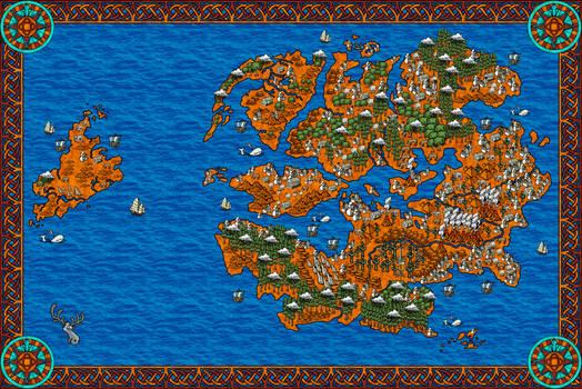 Fantasy Map of something...