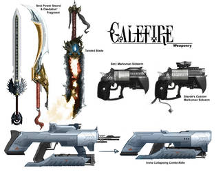 Galefire Weapon Composition by Michael-Galefire