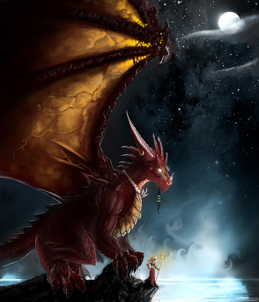 Dragon Queen by Michael-Galefire