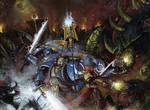40k commission - Ultramarines, Tyranid Invasion