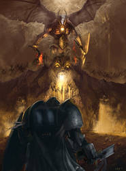 Trials of Draigo - Reforging the Titansword by Michael-Galefire