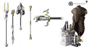 Warmachine - Convergence of Cyriss Gear