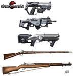 Shadowrun weapons