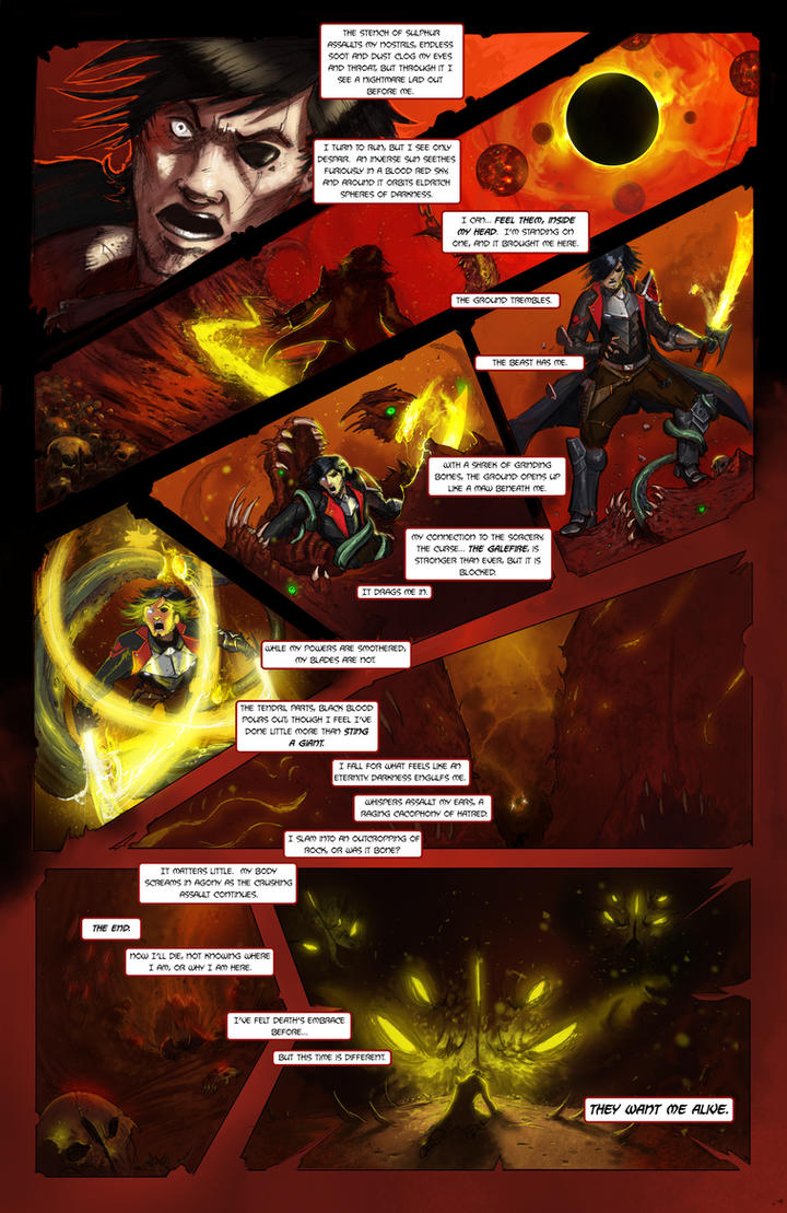 Galefire Chronicles - Page 5 Issue 1 by Michael-Galefire