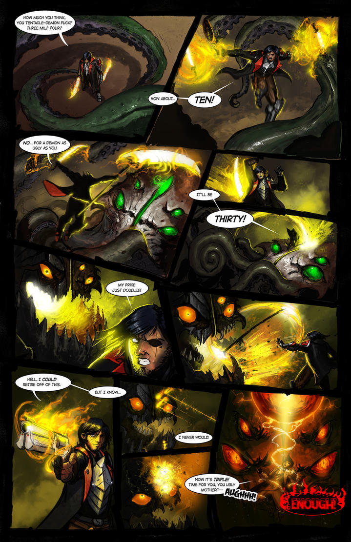 Galefire Chronicles - Page 7 Issue 1 by Michael-Galefire