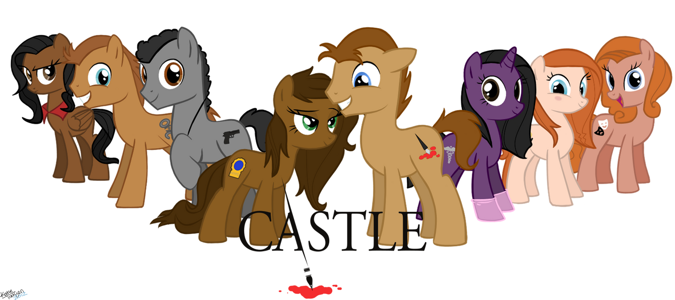 Castle Cast - Ponified by chameron