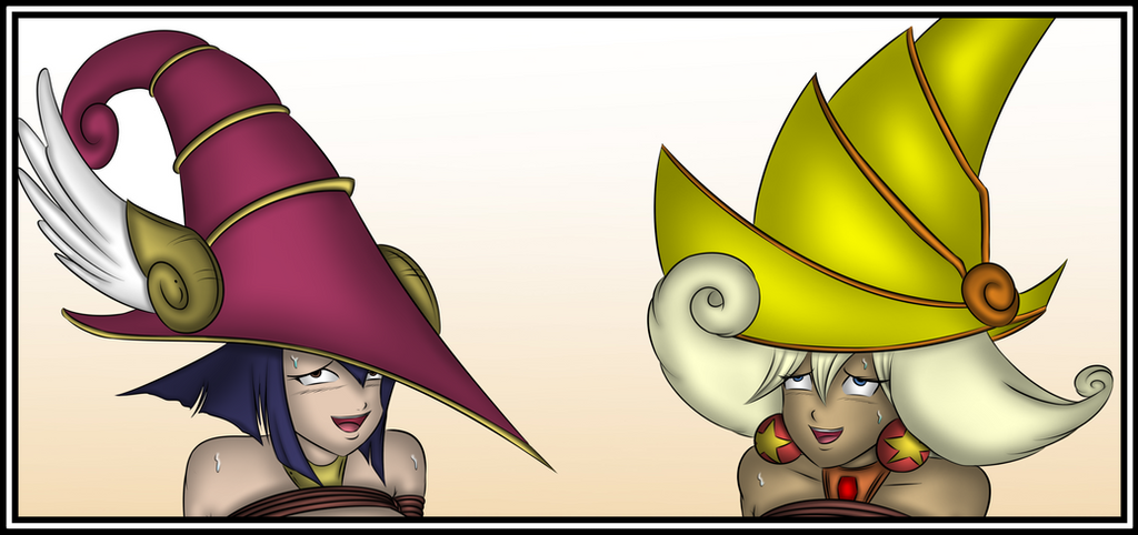 Apple and Lemon Magician Girl [Humite-Ubie] by koter29
