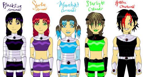 Starfire's Family