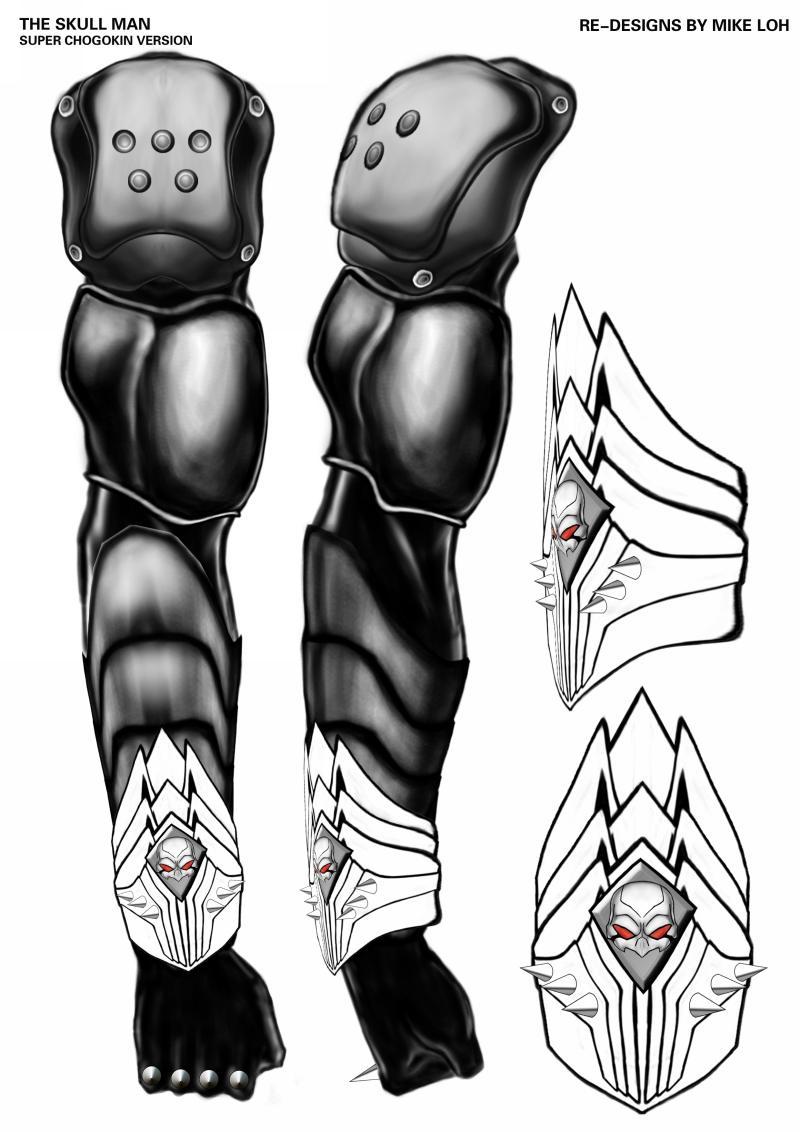 Skull man armor by uratz studios on deviantart - Uratz studios ...