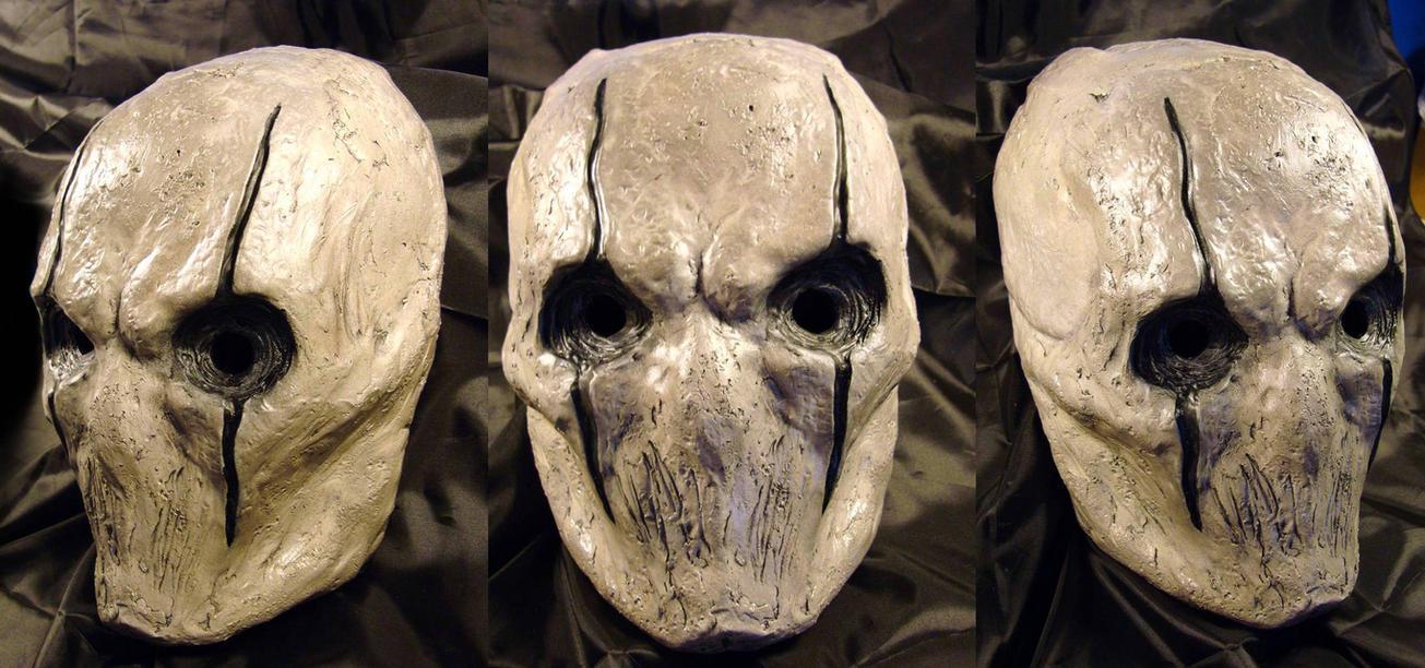 Horror's Mask White by Uratz-Studios