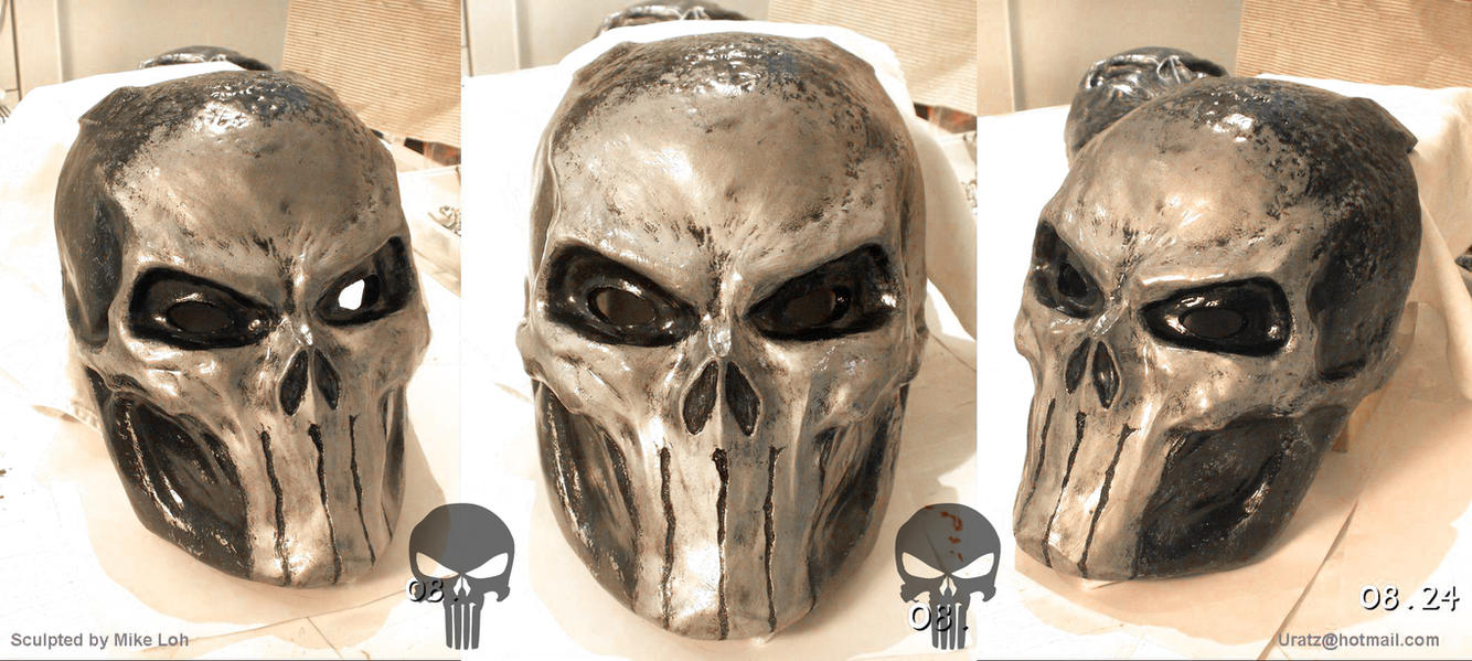Punisher Skull Mask Clean by Uratz-Studios
