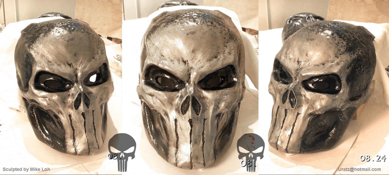 Punisher skull mask clean by uratz studios on deviantart - Uratz studios ...
