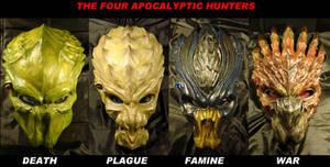 The 4 Hunters of Apocalypse