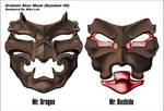 Graham Aker Menpo Bushido Mask