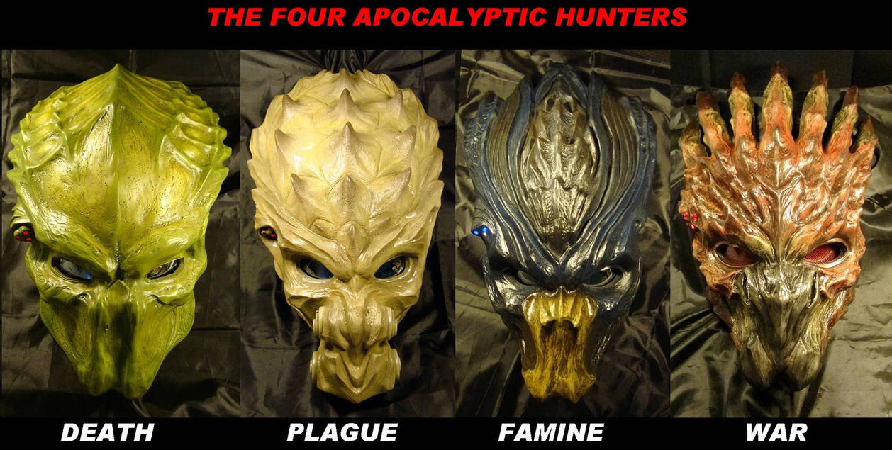 four horsemen of apocalypse by uratz studios on deviantart