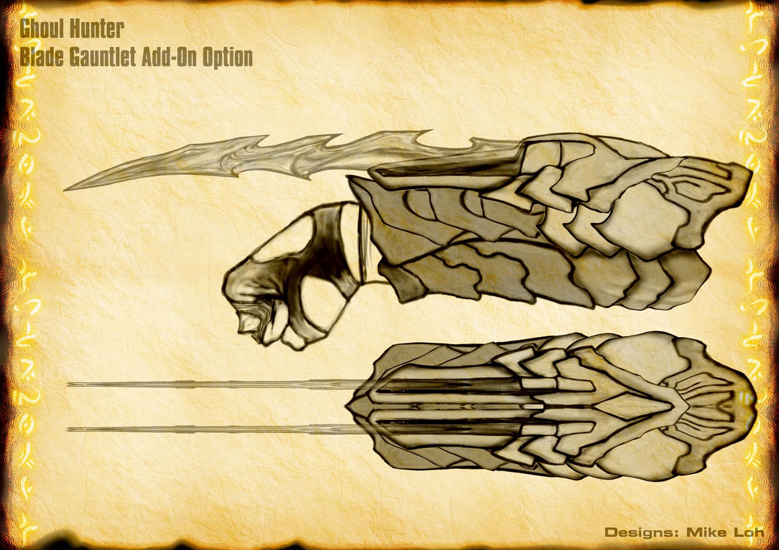 Rya Inertia (Major Wip) Ghoul_Armor_Blade_Gauntlet_by_MichaelLoh