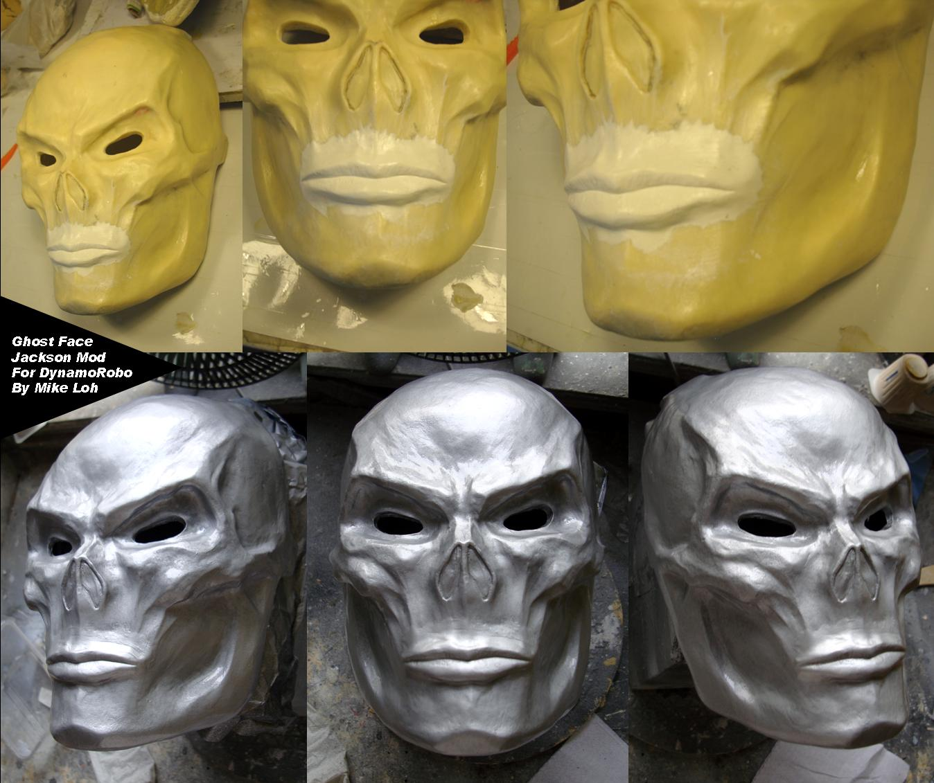 Ghostface jackson wip by uratz studios on deviantart - Uratz studios ...