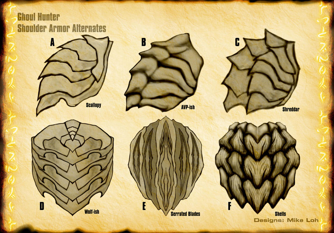 Viewing Gallery For - Shoulder Armor Tattoo