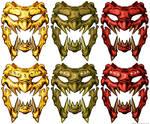 YautJa Menpo Color Variants